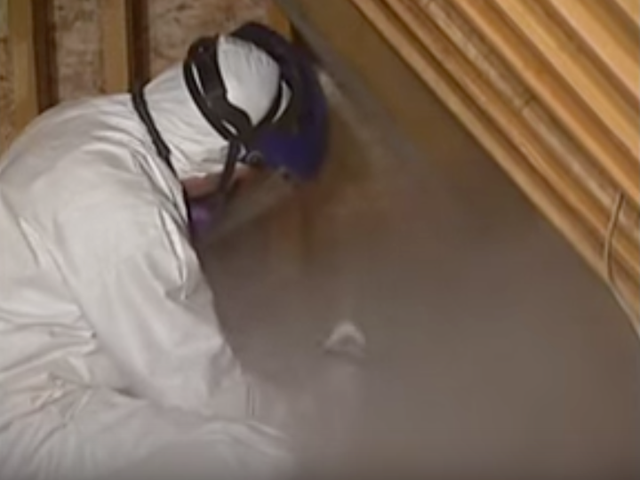 Guy Removing Mold San Antonio